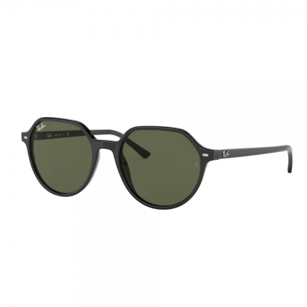occhiali-da-sole-ray-ban-rb2195-901-31-51-18-145-unisex-black-lenti-green