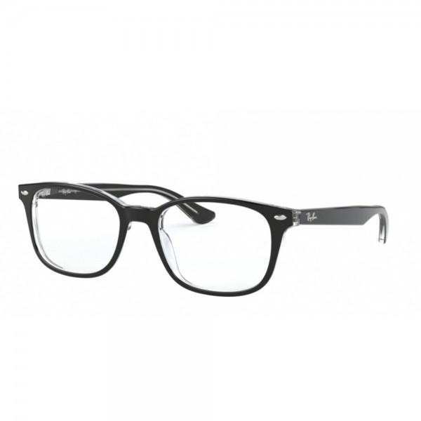 occhiali-da-vista-ray-ban-rx5375-2034-53-18-145-unisex-nero