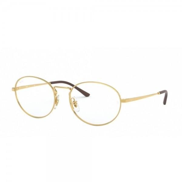occhiali-da-vista-ray-ban-rx6439-2500-52-18-140-unisex-oro