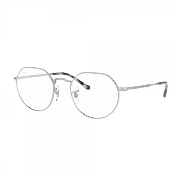 occhiali-da-vista-ray-ban-jack-rx6465-2501-51-20-140-unisex-silver