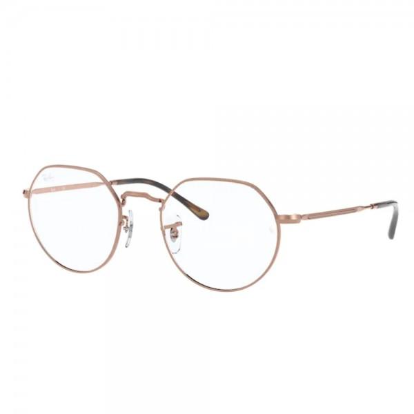 occhiali-da-vista-ray-ban-jack-rx6465-2943-49-20-140-unisex-copper