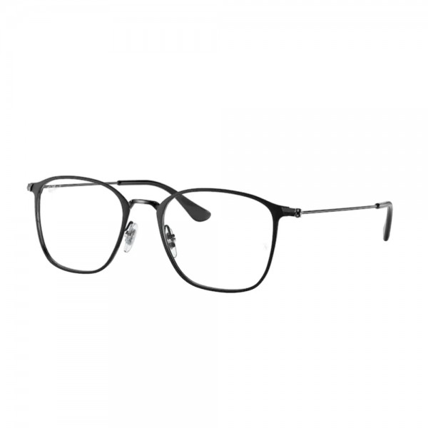 occhiali-da-vista-ray-ban-rx6466-2904-51-19-145-unisex-matte black-on-black