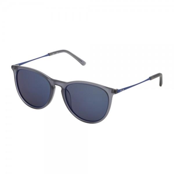occhiali-da-sole-fila-sf9246-4g0p-53-19-145-unisex-grigio-trasparente-lenti-smoke-multilayer-blue-polarizzato
