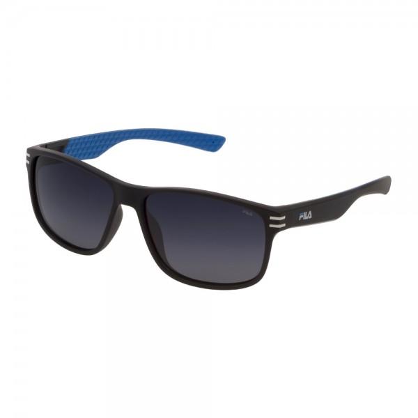 occhiali-da-sole-fila-sf9328-u28z-60-15-140-unisex-nero-opaco-lenti-smoke-gradient-polarizzato