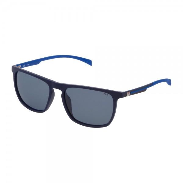occhiali-da-sole-fila-sf9331-7sfp-58-17-145-unisex-blu-pieno-opaco-lenti-blue-polarizzato