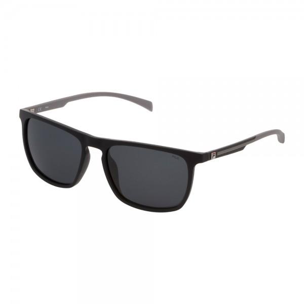 occhiali-da-sole-fila-sf9331-u28z-58-17-145-unisex-nero-opaco-lenti-smoke-polarizzato