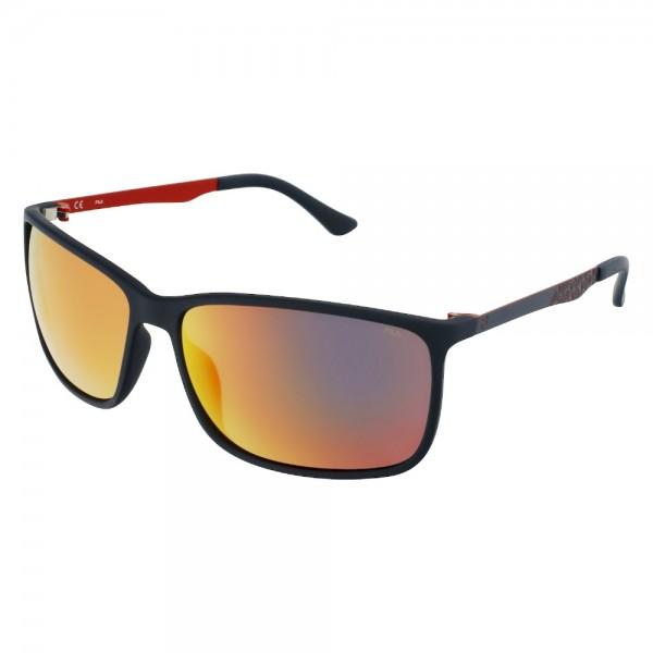 occhiali-da-sole-fila-sf9383-98sr-62-14-130-unisex-steel-blu-metallizzato-opaco-lenti-smoke-multilayer-red