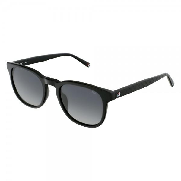 occhiali-da-sole-fila-sf9392v-0700-51-21-140-unisex-nero-lucido-lenti-smoke-gradient