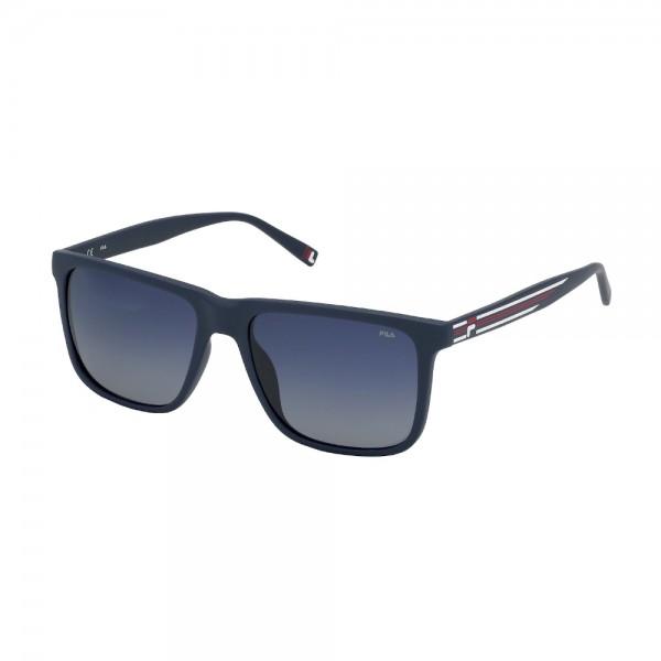occhiali-da-sole-fila-sf9396-c03p-56-17-145-unisex-blu-opaco-lenti-blu-opaco-polarizzato