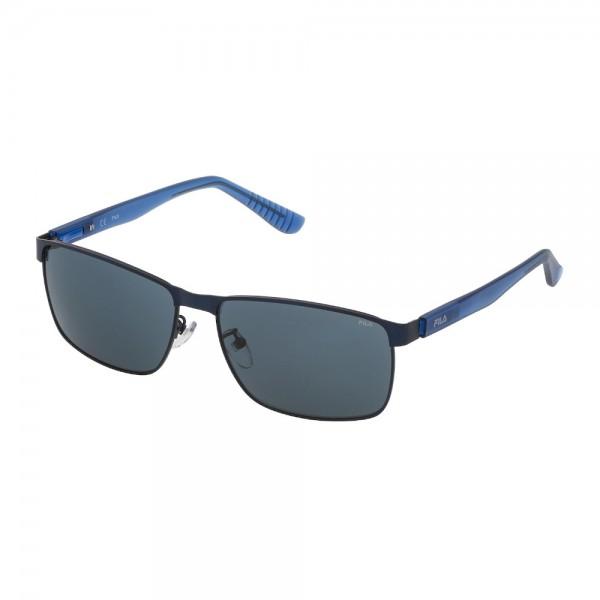 occhiali-da-sole-fila-sf9920-l71m-60-15-140-unisex-blu-opaco-lenti-blu