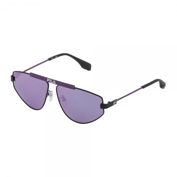 occhiali-da-sole-fila-sf9993-531v-59-12-140-unisex-nero-semilucido-totale-lenti-smoke-mirror-pink-polarizzato