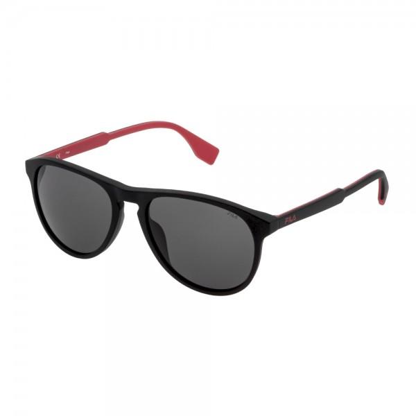 occhiali-da-sole-fila-sfi015-0703-56-18-145-unisex-nero-sabbiato-opaco-lenti-smoke