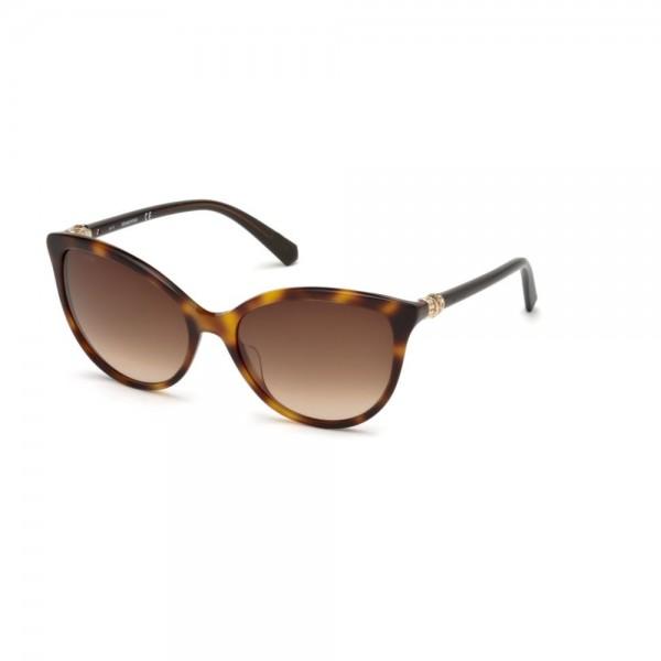 occhiali-da-sole-swarovski-donna-avana-scuro-lenti-brown-gradient-sk0147-s-52g-57-17-135