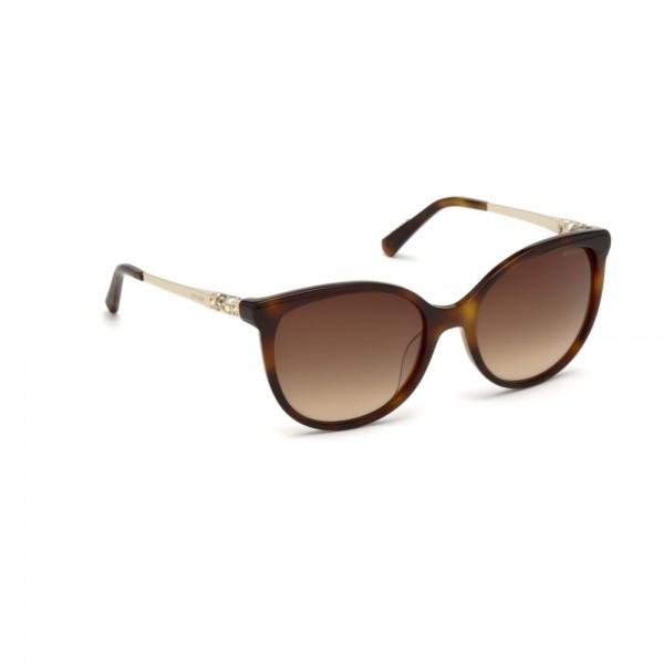 occhiali-da-sole-swarovski-donna-avana-scuro-lenti-brown-gradient-sk0155-s-52f-55-19-135
