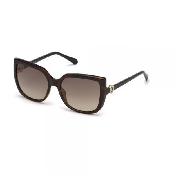 occhiali-da-sole-swarovski-donna-avana-scuro-lenti-brown-gradient-sk0166-s-52f-56-17-140