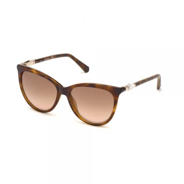 occhiali-da-sole-swarovski-sk0226-s-52g-56-16-140-donna-avana-scuro-lenti-marrone-specchiato