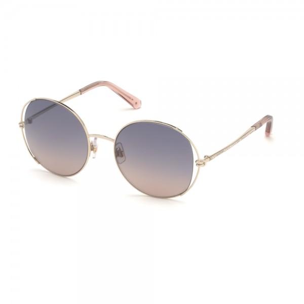 occhiali-da-sole-swarovski-sk0230-s-32f-54-20-135-donna-oro-lenti-marrone-blu-gradient