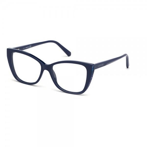 occhiali-da-vista-swarovski-sk5290-090-53-15-140-donna-blu-lucido