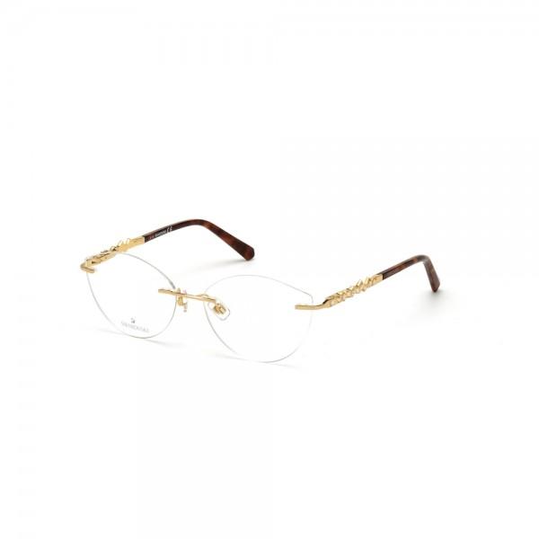 occhiali-da-vista-swarovski-sk5346-030-55-15-140-donna-oro-lucido