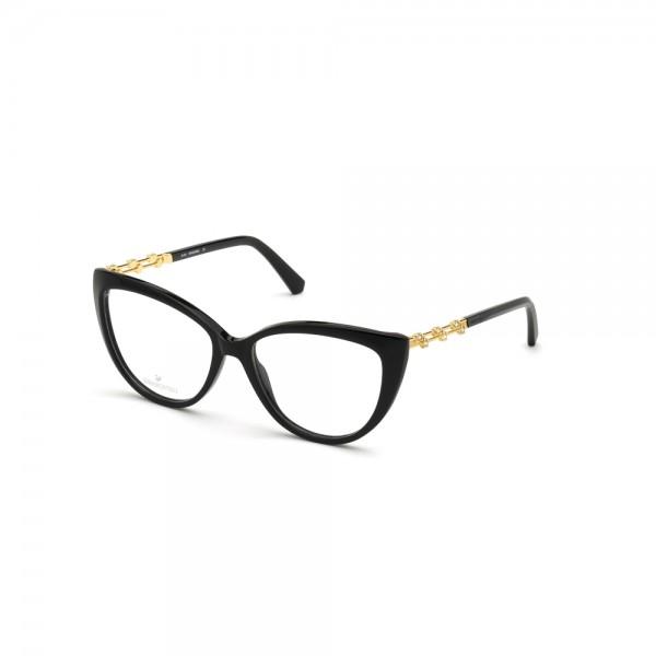occhiali-da-vista-swarovski-sk5382-001-54-15-140-donna-nero-lucido