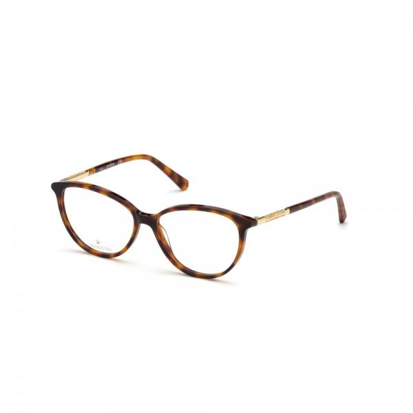 occhiali-da-vista-swarovski-sk5385-052-54-14-140-donna-avana-scura
