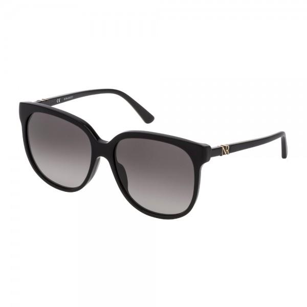 occhiali-da-sole-nina-ricci-snr196-0700-57-15-140-donna-nero-lucido-lenti-smoke-gradient