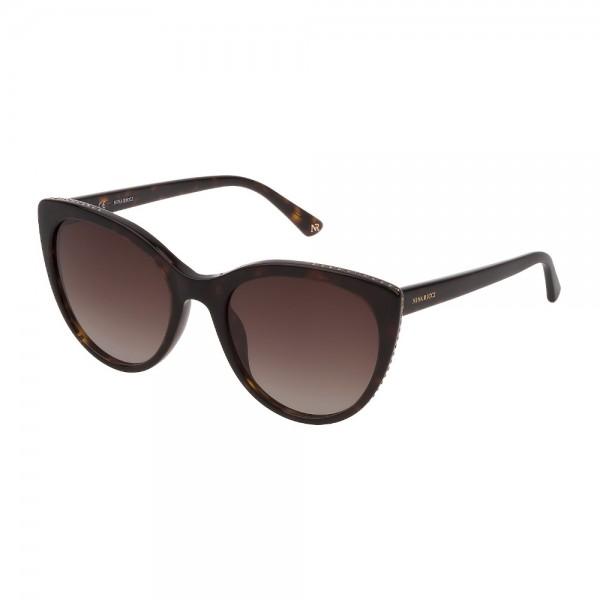 occhiali-da-sole-nina-ricci-snr225s-0722-55-20-140-donna-avana-scura-lucido-lenti-brown-gradient