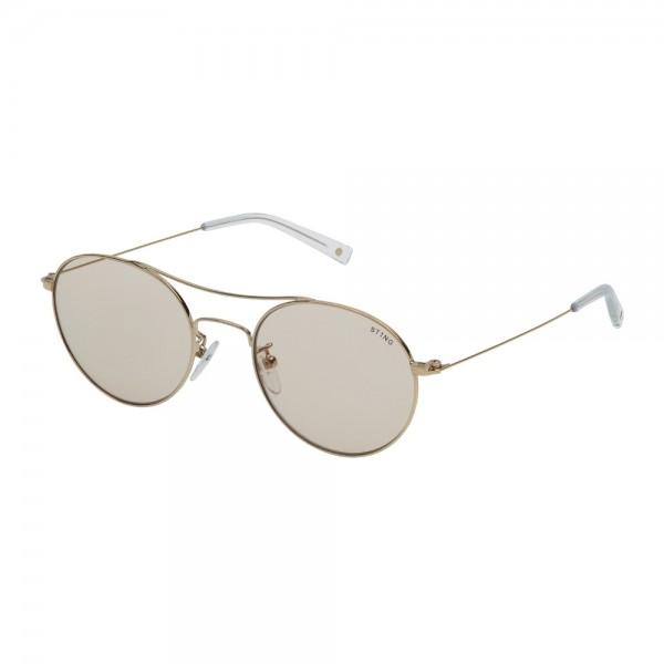 occhiali-da-sole-sting-continue-2-unisex-oro-rose-lucido-lenti-brown-sst128-0300-52-20-140