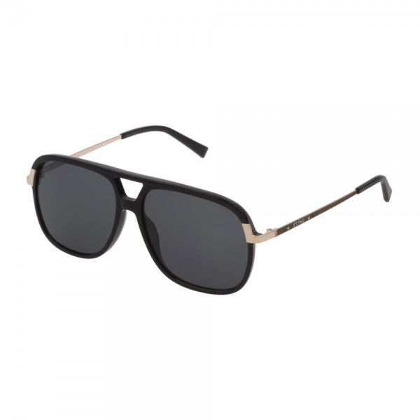 occhiali-da-sole-sting-blink-6-unisex-nero-lucido-lenti-smoke-sst308-0700-57-14-145