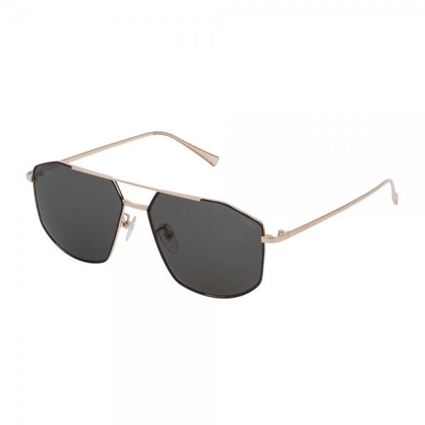 occhiali-da-sole-sting-blogger-5-unisex-oro-rose-lucido-lenti-grey-green-sst314-0301-57-14-145