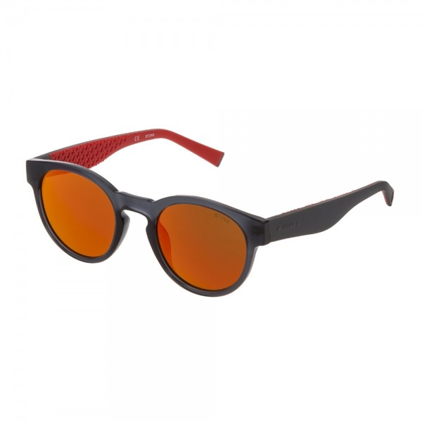 occhiali-da-sole-freestyler-1-sst319-6f7p-50-22-145-unisex-grigio-trasparente-lucido-lenti-brown-multilayer-red