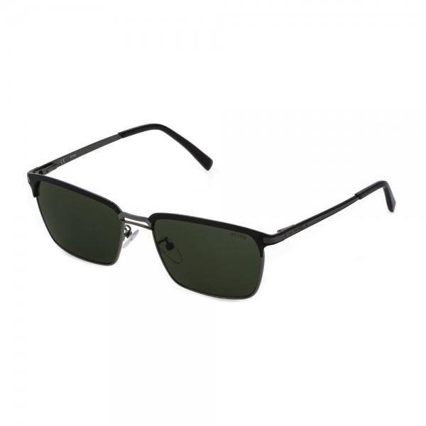 occhiali-da-sole-sting-evolution-2-sst382-0584-58-17-145-uomo-bachelite-lucida-c-/-parti-sabbiate-e-op-lenti-green