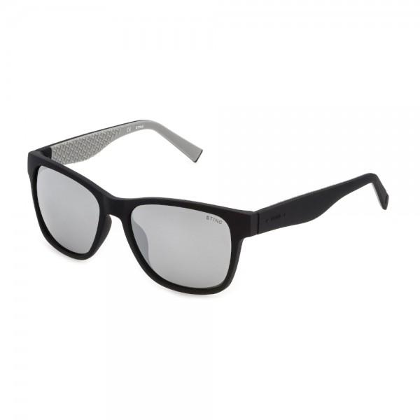 occhiali-da-sole-essential-1-sst385-u28p-56-17-145-uomo-nero-opaco-lenti-smoke-mirror-silver