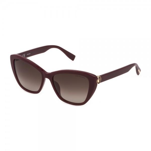 occhiali-da-sole-trussardi-str474-09fh-56-16-140-donna-bordeaux-pieno-lucido-lenti-brown-gradient-brown