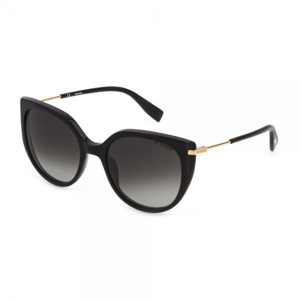 occhiali-da-sole-trussardi-str478-0700-55-19-135-donna-nero-lucido-lenti-smoke-gradient