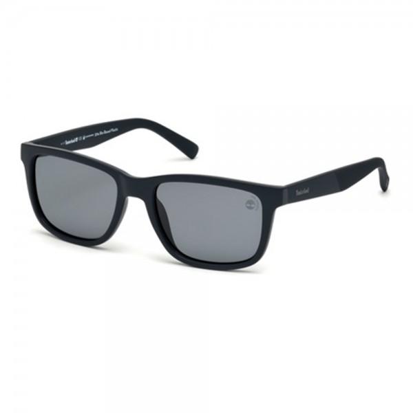occhiali-da-sole-timberland-tb9125-s-91d-55-18-145-unisex-blu-opaco-lenti-fumo-polarizzato