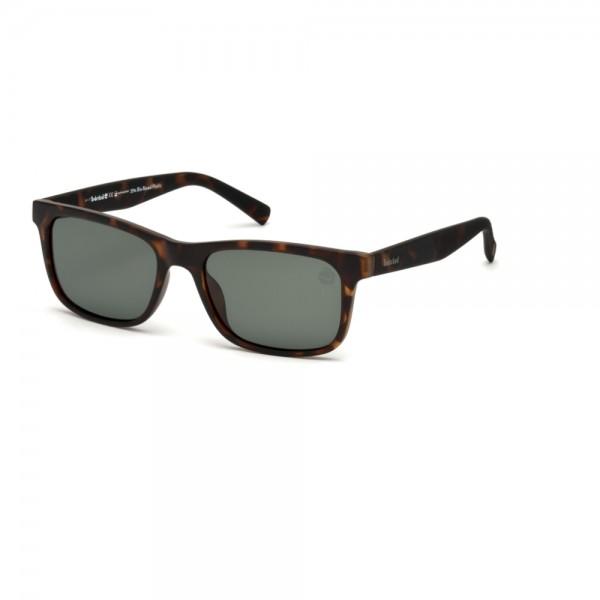 occhiali-da-sole-timberland-tb9141-s-52r-55-18-145-unisex-avana-scuro-lenti-verde-polarizzato