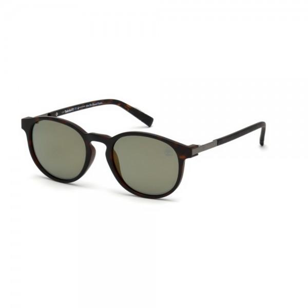 occhiali-da-sole-timberland-tb9151-s-52r-51-19-145-unisex-avana-scuro-lenti-verde-polarizzato