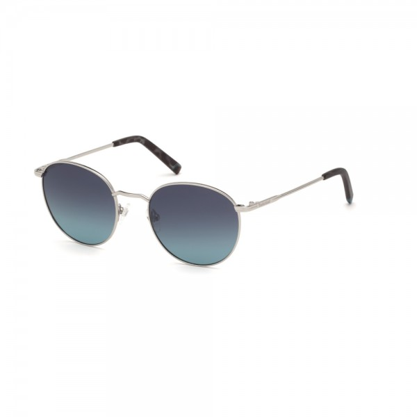 occhiali-da-sole-timberland-tb9180-s-10d-52-20-145-unisex-argento-stagno-chiaro-lucido-lenti-fumo-polarizzato