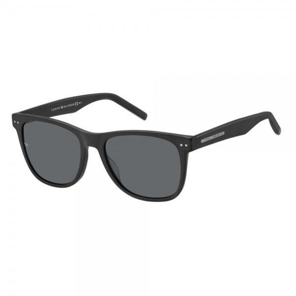 occhiali-da-sole-tommy-hilfiger-th-1712-s-003-54-18-145-unisex-nero-opaco-lenti-grey