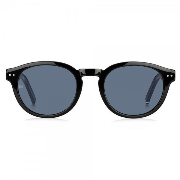 occhiali-da-sole-tommy-hilfiger-th-1713-s-807-50-22-145-unisex-nero-lenti-grey
