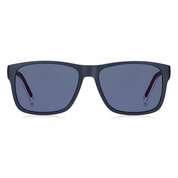 occhiali-da-sole-tommy-hilfiger-th-1718-s-8ru-56-16-145-unisex-blu-rosso-lenti-azure
