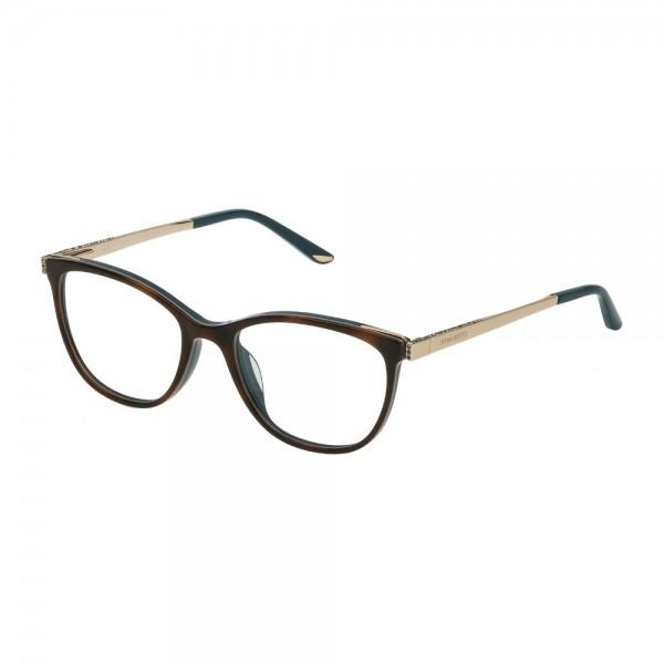 occhiali-da-vista-nina-ricci-c/strass-vnr124s-0ali-52-18-140-donna-top-avana-verde-petrolio-lucido
