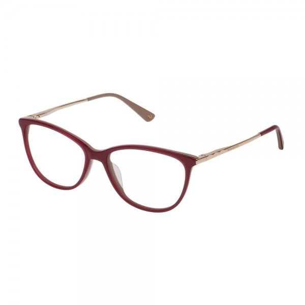 occhiali-da-vista-nina-ricci-vnr139-07hp-53-16-140-donna-rosso-pieno-c/parti-marrone-pieno