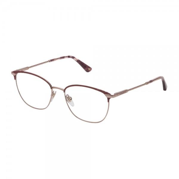 occhiali-da-vista-nina-ricci--vnr185-08p2-54-17-135-donna-rosa-pesca-lucido-c-/-parti-colorate