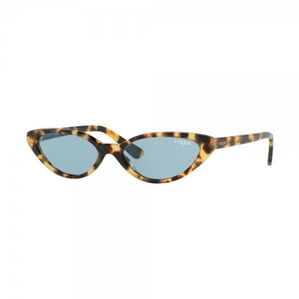 occhiali-da-sole-vogue-donna-brown-yellow-tortoise-lenti-blu-vo5237s-260580-52-16-140