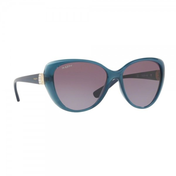 salvare 11fe3 50b37 Occhiali da Sole Vogue Donna Opal Light Blue Lenti Violet Gradient VO5193SB  25348H 57-16-135