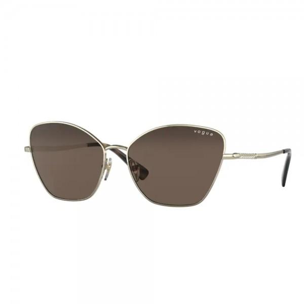 occhiali-da-sole-vogue-vo4197s-848/73-58-15-140-donna-pale-gold-lenti-dark-brown