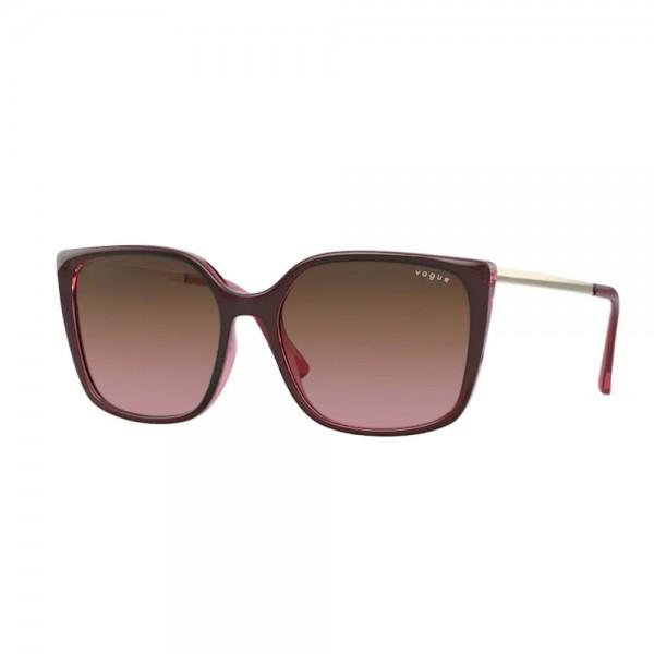 occhiali-da-sole-vogue-vo5353s-287314-54-16-140-donna-top-red-on-transparent-pink-lenti-pink-gradient-brown
