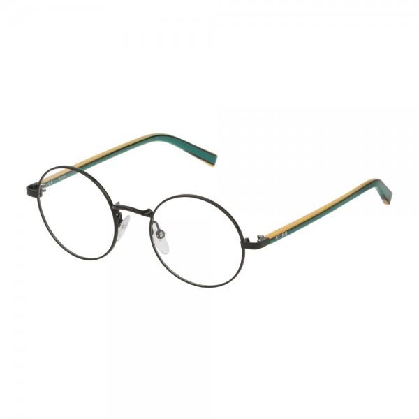 occhiali-da-vista-sting-emoji-1-vsj411-0530-44-18-135-unisex-nero-lucido-totale